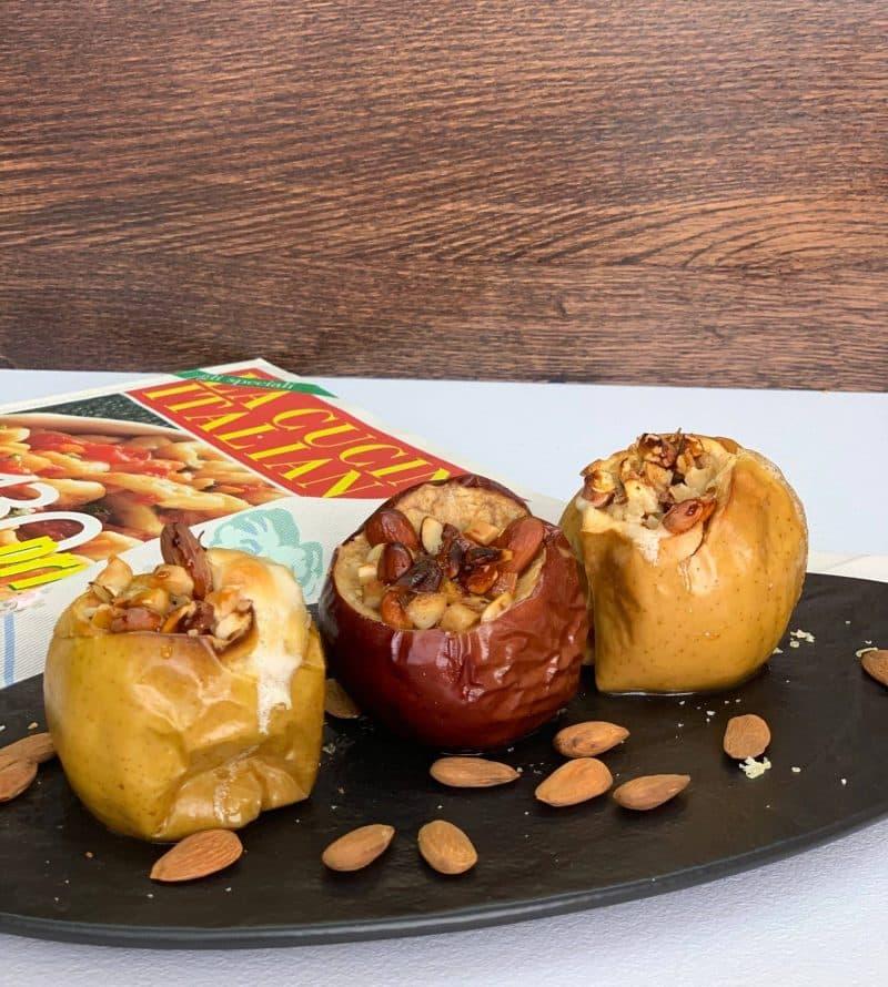 Healthy Baked Cinnamon Apples