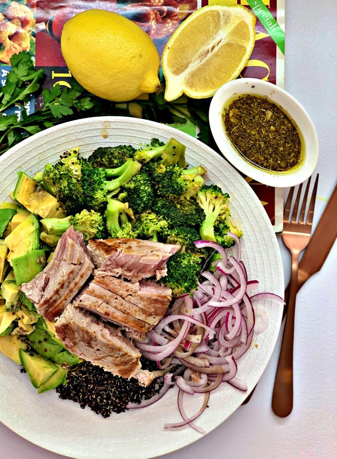 Creamy Avocado Tuna Salad Delice Recipes