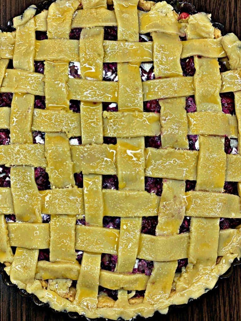 How to make cherry pie crust