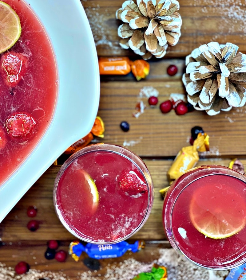 Christmas Punch with Cointreau
