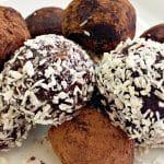 Keto cocoa fat bombs