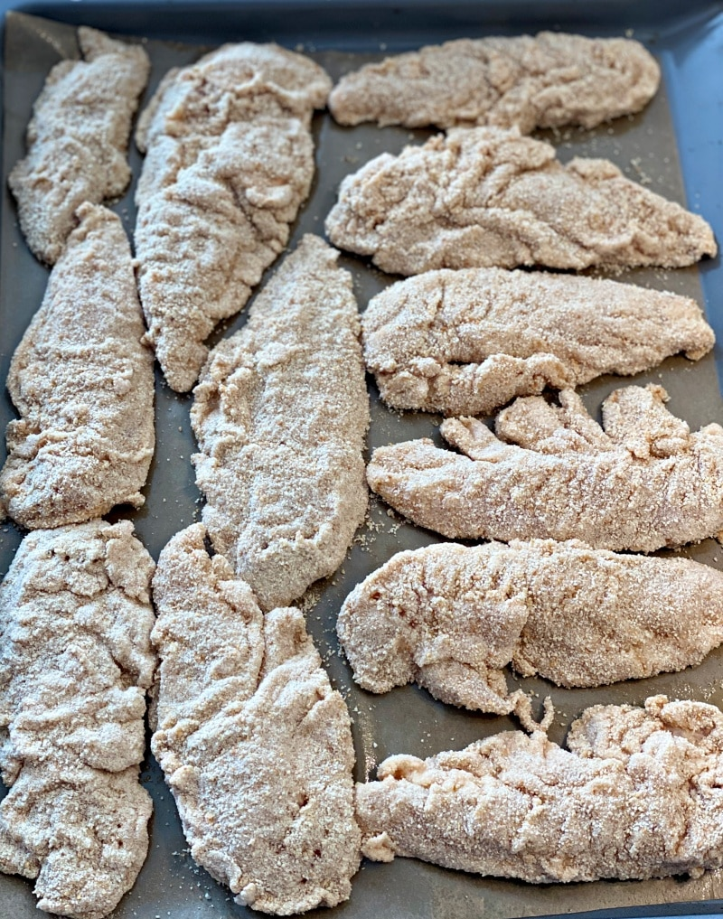 oven baked coated chicken fingers