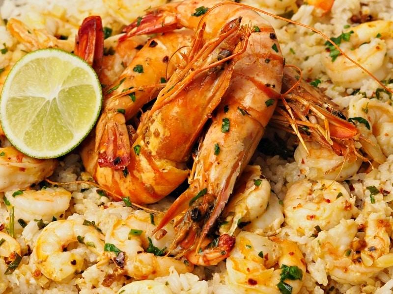 coconut rice with shrimpsrecipe