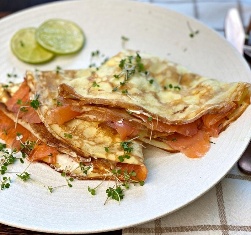 salmon crepes recipe