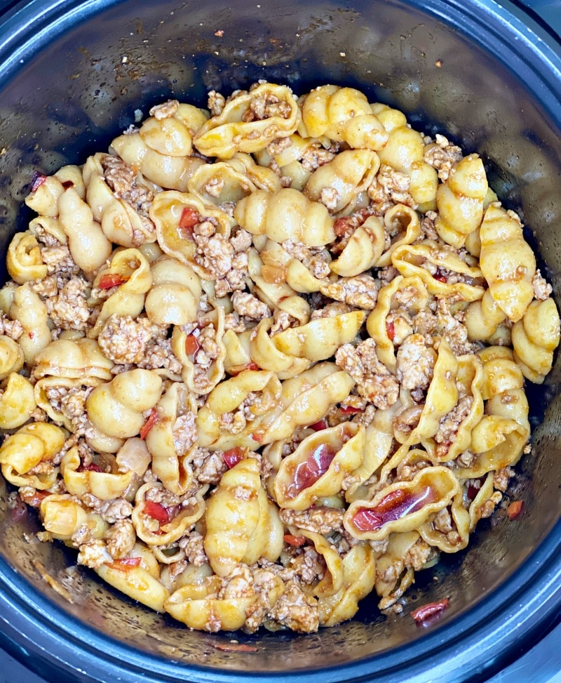 how to cook ground meat macaroni in instant pot