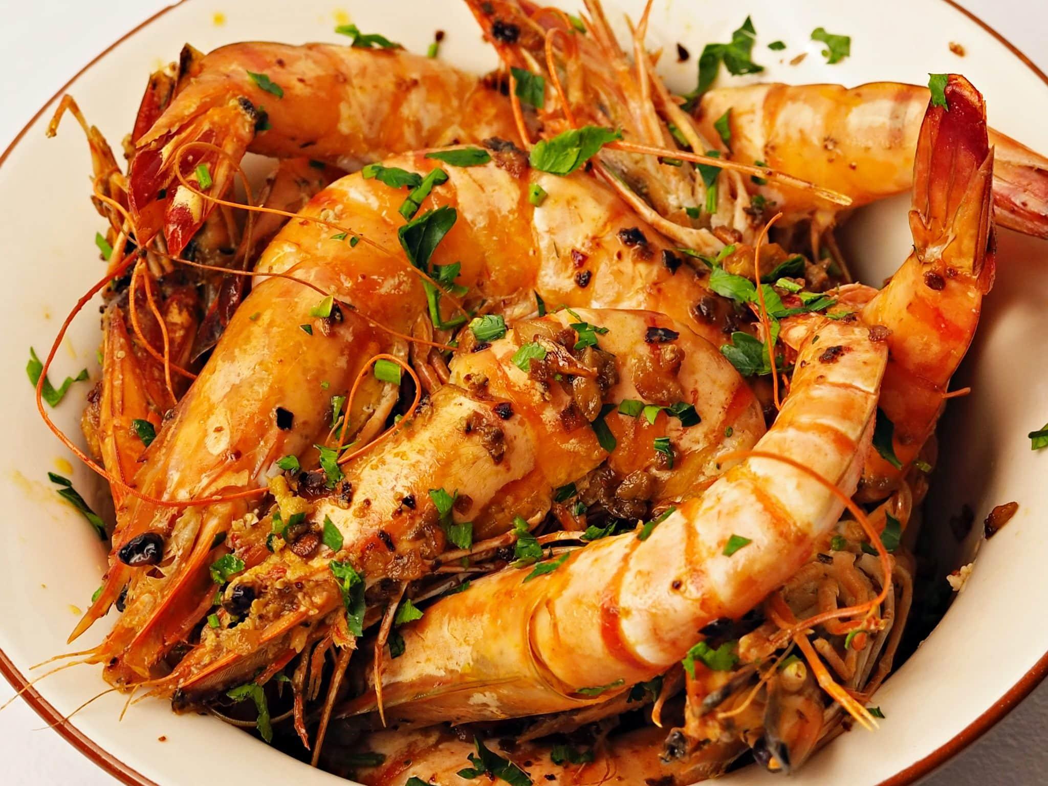 sauteed prawns recipe