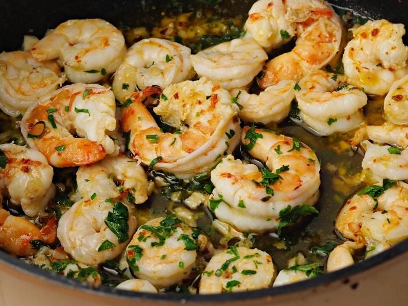 sauteed shrimps recipe